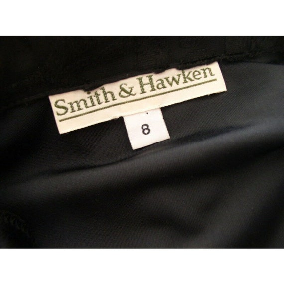 Vintage 90s Grunge Velvet Dress / Smith & Hawken … - image 10