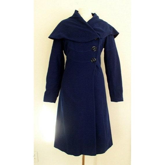 Vintage 1930s Vogue Couturier Princess Coat / 30'… - image 2