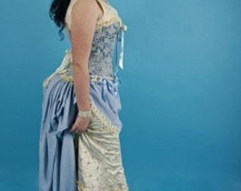 Victorian Gothic Burlesque Apron and Bustle set