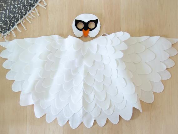 hnliche artikel wie schwan kost m kinder kost m wei vogel maske fl gel kost m kinder schwan. Black Bedroom Furniture Sets. Home Design Ideas