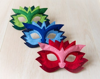 Dragon Mask Kids Mask Kids Dragon Costume Accessory Kids Halloween Mask Carnival Mask Photo Props Felt Dress up Mask For Girls For Boys
