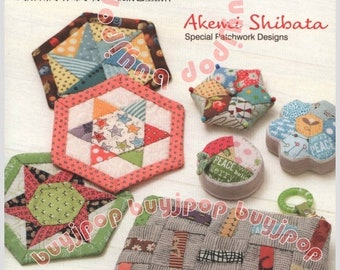 TC Out Of Print Japanese Patchwork Craft Pattern Book Shibata Special Patchwork Designs