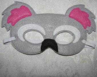 Koala Bear Felt Party Mask