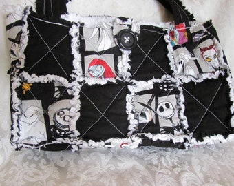 Nightmare Before Christmas Purses Handbags.Nightmare Before Christmas Purse Etsy