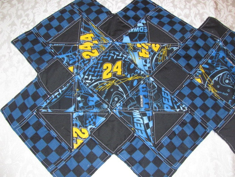New Quilted Racing #24 Table Runner