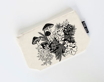 regrow zipper pouch, cosmetic pouch