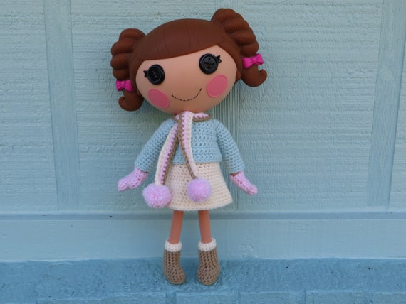 Lalaloopsy Winter Snowflake | Amigurumi | Crochet | 428x570