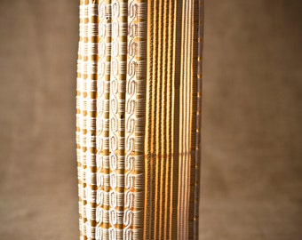 Danae Lampshade - Handwoven with inwoven cane - Free shipping!