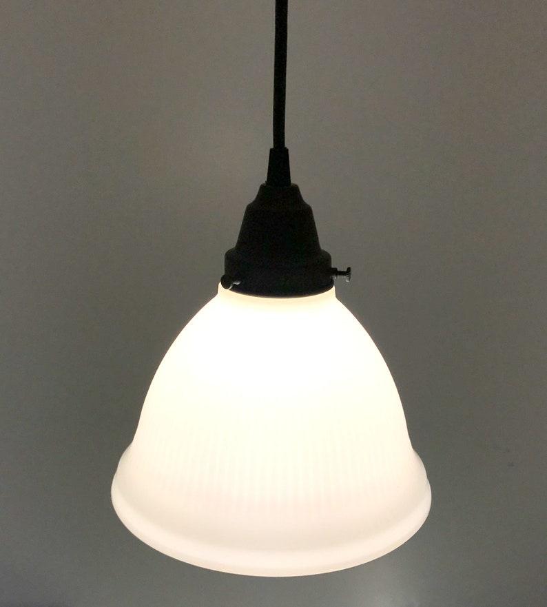 Cru Cuisine Flush Mount De Verre Îlot Lampe Lampgoods Rustique Lait Éclairage Suspension Luminaire Lustre Ferme w0O8knP