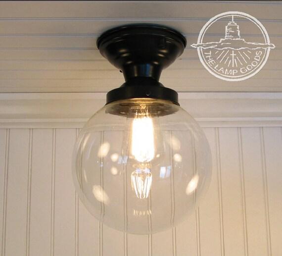 Biddeford. Glass Lighting SEMI-FLUSH Ceiling Light Fixture   Etsy