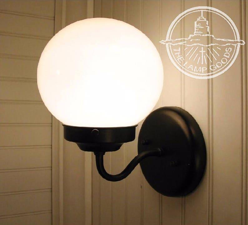 Port II. L'éclairage Globe applique luminaire - mur moderne Mont ferme  salle de bain cuisine lampe pendentif Chandelier piste Globe par LampGoods