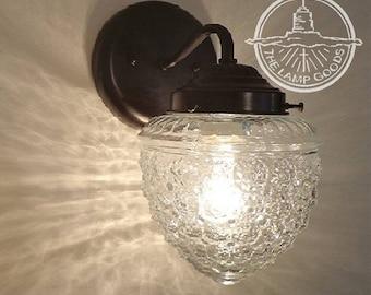 Island Falls. Glass WALL SCONCE Light Fixture