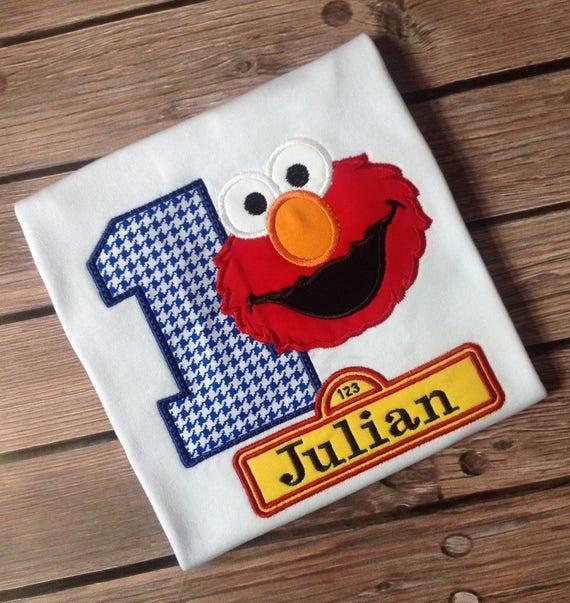 Birthday Elmo ShirtSesame Street Shirt