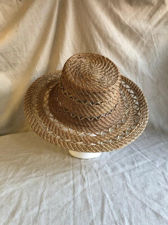 natural straw hat | boho hat | summer beach hat |