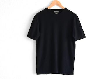 Mens Cashmere Sweater Mens Cashmere T Shirt Sweater Mens Cashmere Shirt Mens Sweater Mens Fashion Mens Vintage Clothing Mens Cashmere M
