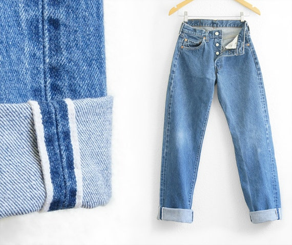 Levis 501 Redline Jeans High Waisted Levi High Wai
