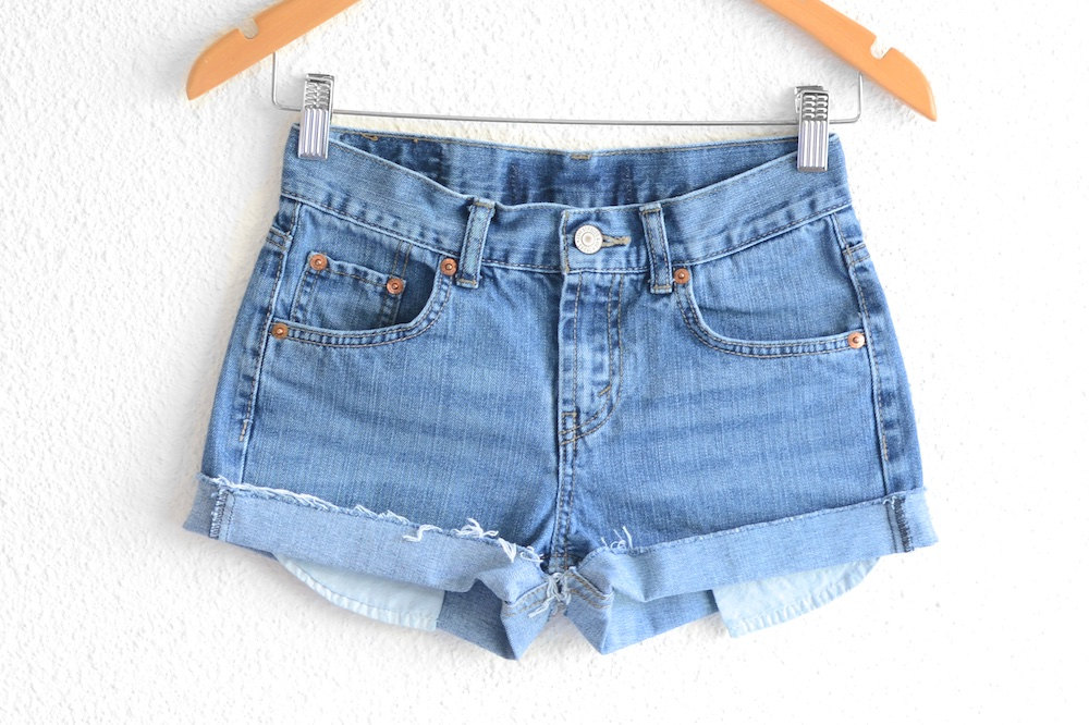 3415499c Levis High Waisted Shorts size small Shorts Vintage Levi High | Etsy