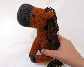 Sally - the amigurumi pony pattern by Linnea Ornstein | Crochet ... | 270x340