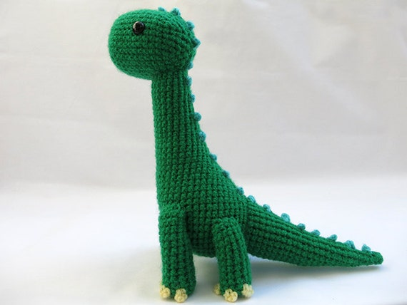 Dinosaur Amigurumi Pattern - Free - Ami Amour | 428x570