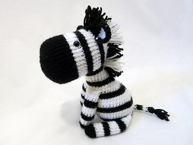 Crochet PATTERN PDF Amigurumi Zebra amigurumi pattern   Etsy