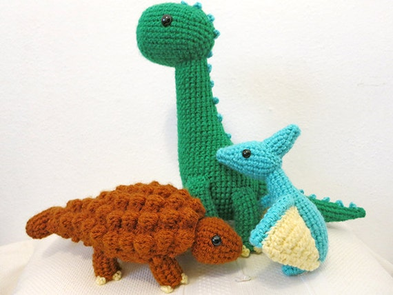 Dinosaur Crochet Pattern Bundle
