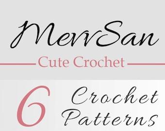 Any 6 Crochet Patterns