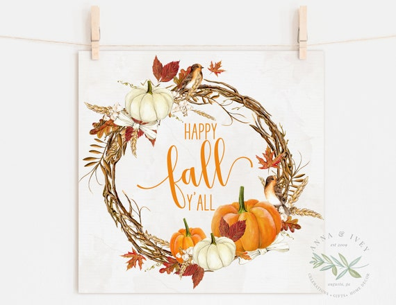 picture relating to Happy Fall Y All Printable known as PRINTABLE \