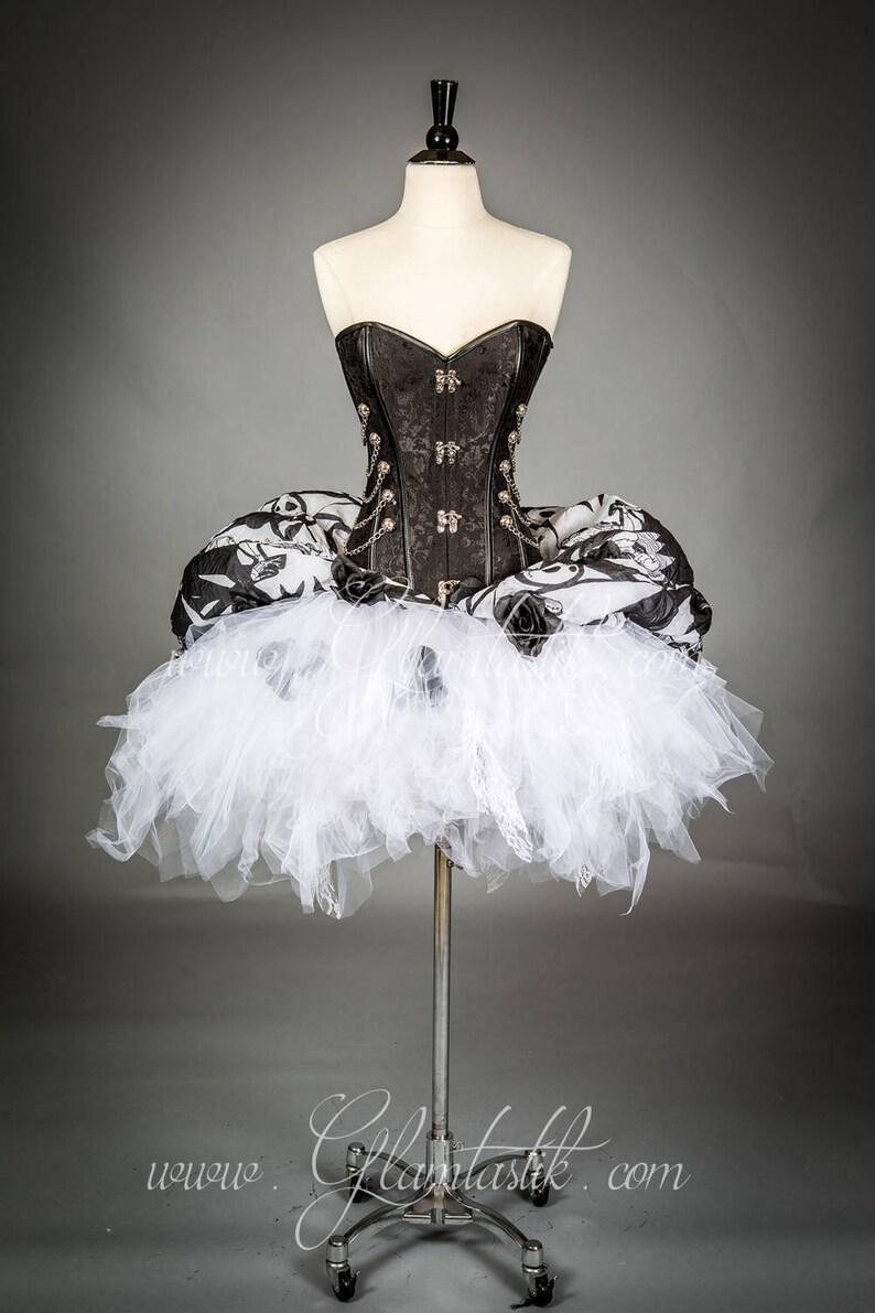 c3fd9d64c99 Custom Size Jack Skellington corset dress zombie Burlesque