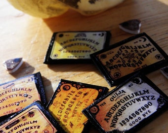 TINY Six (6) Pack Ouija Board Size IV Mini Micro Pocket Boards Party Favors Small Boards - Smallest