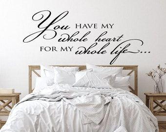 Master Bedroom Quote Etsy