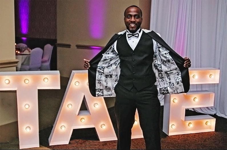 "Custom Linings for Jacket Tuxedo Men or Women's 100% Silk Our Layout 42""x 36"""