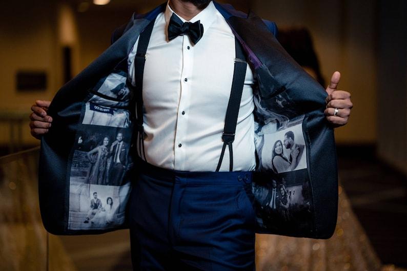 SAMPLE/Grooms Wedding Tuxedo/Gift for Groom/Men's Tux/Silk image 0