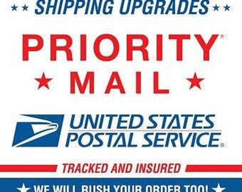 Upgrade shipping/Priority Mail/Priority Express/FedEx Express image 0