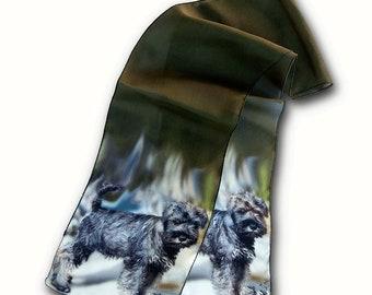 Ridgeback Scarf/Scotch Terrier Scarf/Pit Bull/Weimaraner/Dachshund/ Labrador Scarf/Pug Scarf