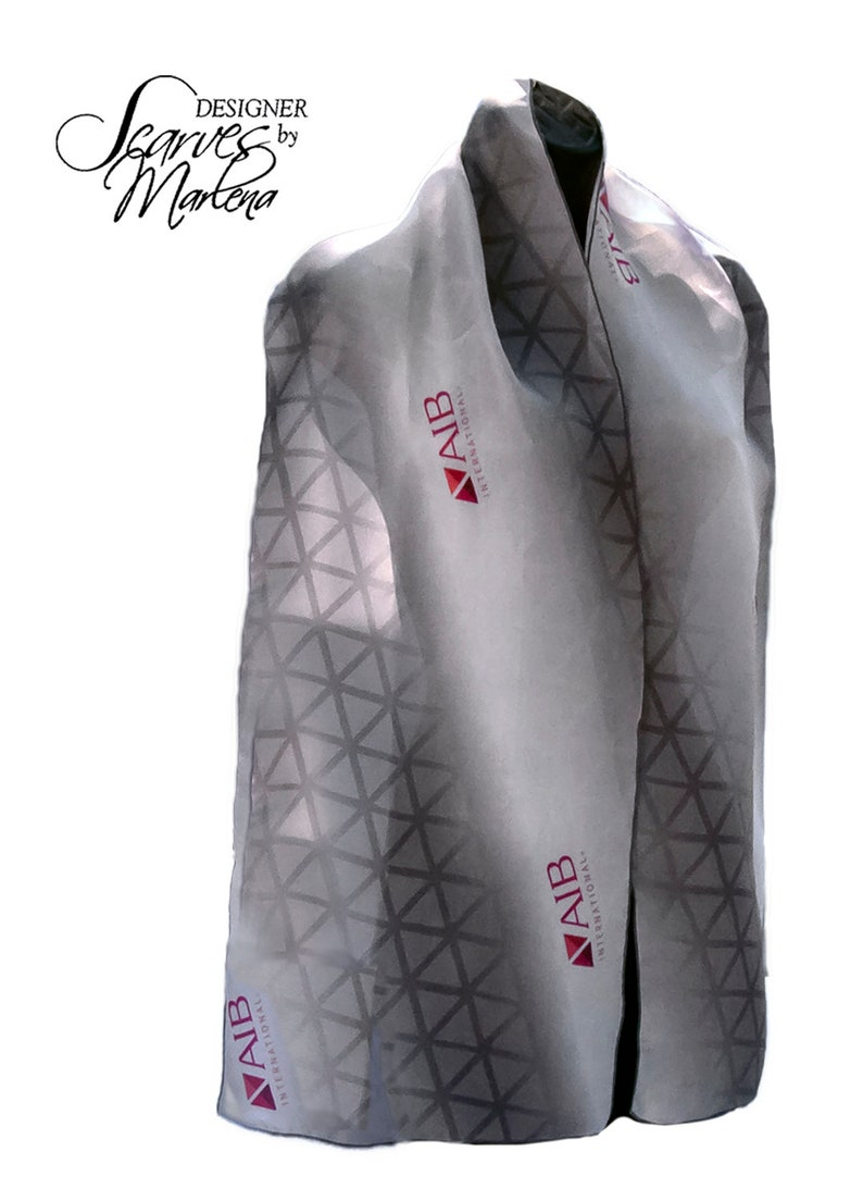 SAMPLE/Pantone Colors Scarf/Company Logo Scarf/PMS Colors image 0