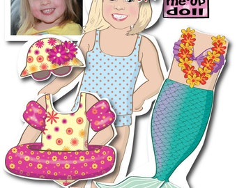 Toddlers MAGNETIC Paper Doll