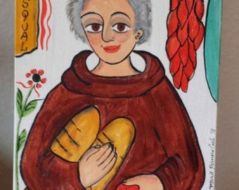San Pasqual2, kitchens, cooks, chefs, restaurants, waitresses, retablo, santo