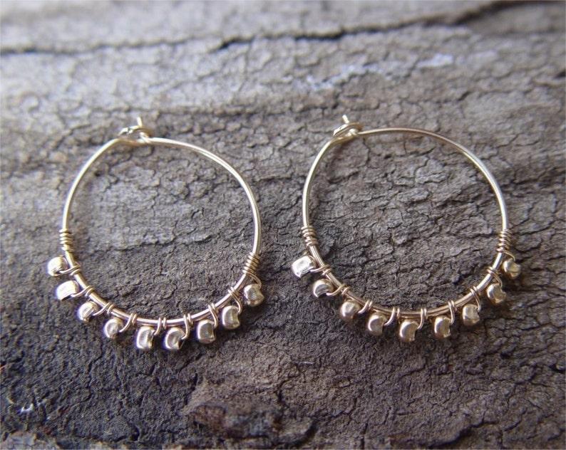 Thin Gold Hoop Earrings Hammered Gold Hoop Earrings Small Gold Hoops Gold Hoop Earrings Small Gold Hoop Earring