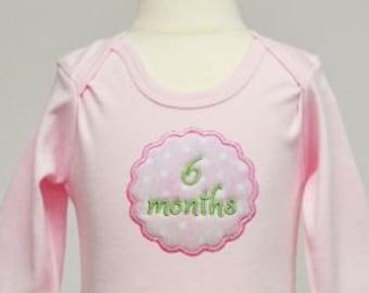 Baby Monthly Milestones Appliques