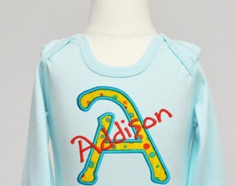 Freaky Applique Font  - Machine Embroidery Alphabet