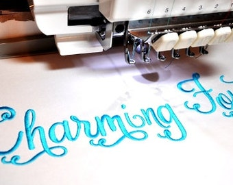 Charming Font Etsy