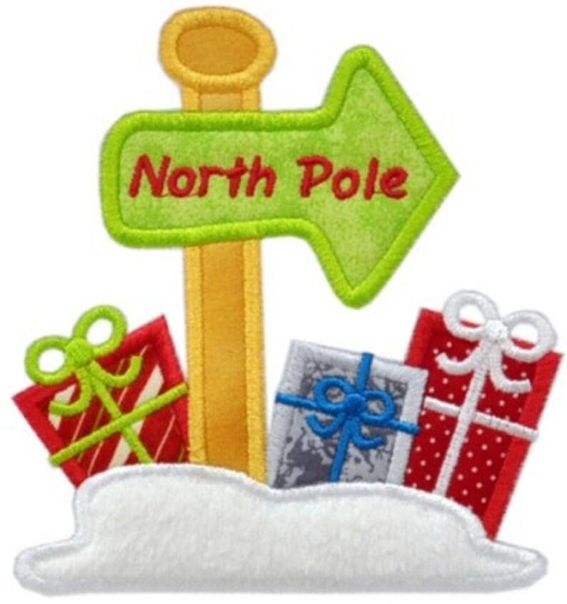 North Pole Applique