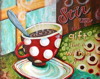 Stir It Up Art Print