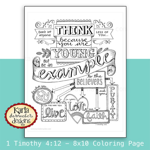 St. Timothy coloring page: January 26th – Catholic Playground | 570x570