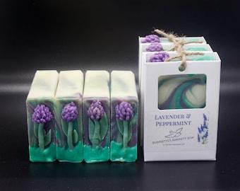 Lavender & Peppermint Soap
