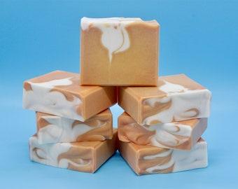 Lemon Turmeric Clay Soap