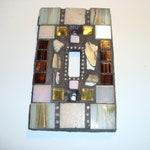 WARM TRADITION, Single Mosaic Light Switch Plate
