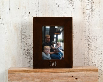 "Personalized Frames - Choose Your Size and Message  1.5"" Solid Poplar in Various Colors - Sizes 4x4, 4x6, 5x5, 5x7, 8x10 - WHOLESALE OPTIONS"
