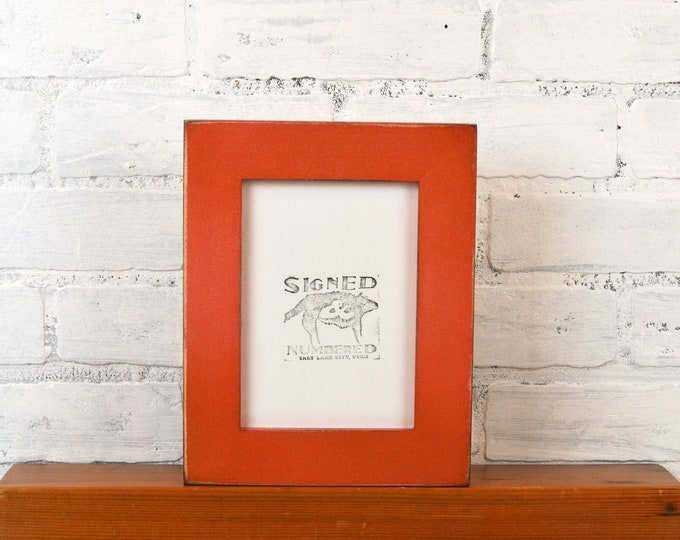 """5x7"""" Picture Frame in 1.5 Standard Style with Vintage Copper Finish - IN STOCK - Same Day Shipping - 5 x 7 Photo Frame"""