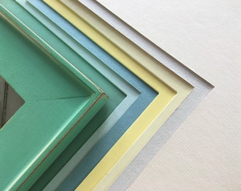 """Add a mat to your Picture Frame - ADD ON item - Mats are included at no extra charge on frames 11x14"""" and smaller"""